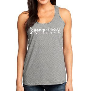 OrangeTheory Mini Stripe District Racerback tank